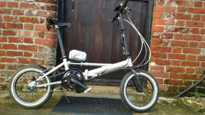 Mojo Dahon  - possibly the lightest electric folder I have ever ridden