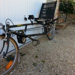 A laid back German recumbent to be seen around Somerset