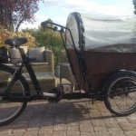 Dutch Family Cargo bike  with enough juice to do our hills